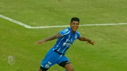 Wilder Cartagena marcó un importante gol con Godoy Cruz en la Copa de la Liga (VIDEO)