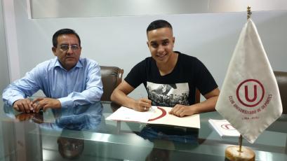 Jesús Barco renovó con Universitario de Deportes