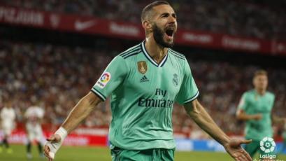 Real Madrid superó al Sevilla y es el nuevo líder de La Liga