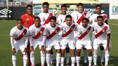 Sub 20: Perú goleó 3-0 a Venezuela y ganó el cuadrangular