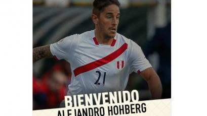 Oficial: Alejandro Hohberg es nuevo jugador de Universitario