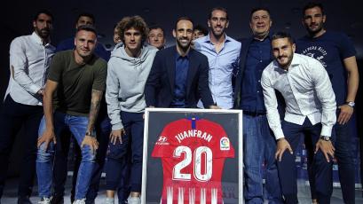 Atlético de Madrid: Juanfran se despidió del club