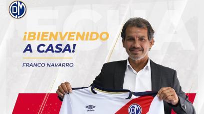 Liga1 Movistar: Franco Navarro es nuevo entrenador de Deportivo Municipal