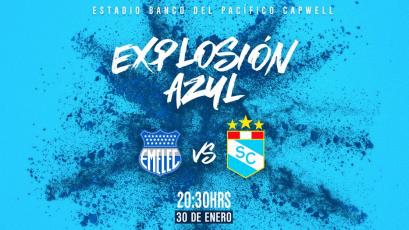 Sporting Cristal se medirá con Emelec en la 'Explosión Azul'