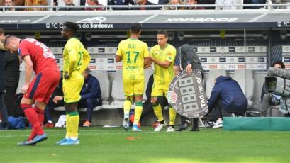Nantes de Cristian Benavente no pudo de visita ante Girondins