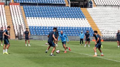 Con la recuperación de Mauricio Affonso, Alianza Lima entrenó en Matute