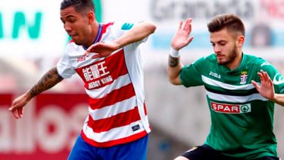 Con Sergio Peña, Granada tropezó en la Liga 123