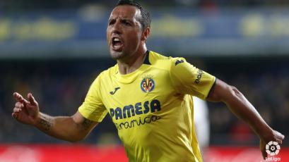 Real Madrid iguala ante Villarreal de Santi Cazorla y se aleja más de La Liga