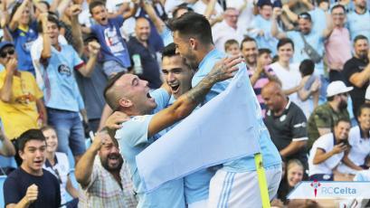 Celta de Vigo sorprende al Atlético de Madrid (2-0)
