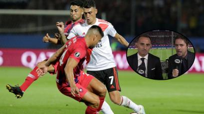 Cerro Porteño vs River Plate: Mariano Closs se quedó sin voz y fue reemplazado en vivo (VIDEO)