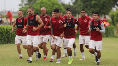 Universitario quedó listo para viajar a Chile y disputar amistosos