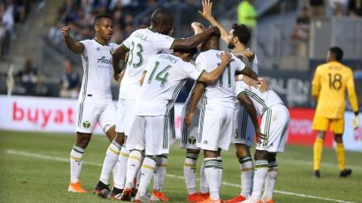 Andy Polo brindó asistencia en el triunfo de visita del Portland Timbers en la MLS
