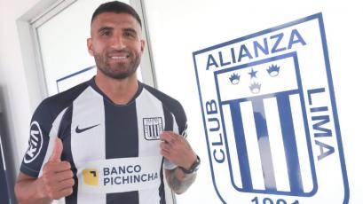 Alianza Lima: así luce Josepmir Ballón con camiseta blanquiazul (FOTOS)