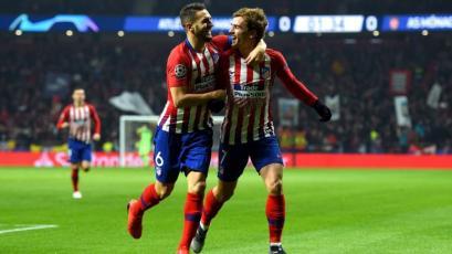 Champions League: Atlético selló su clasificación venciendo al Mónaco