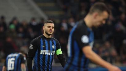 Champions League: Inter no pasó del empate y quedó fuera del torneo