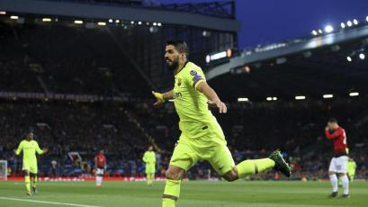 Champions League: Barcelona ganó en Old Trafford (1-0)
