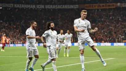 Champions League: Real Madrid superó al Galatasaray por 1-0 en Turquía y sigue con vida