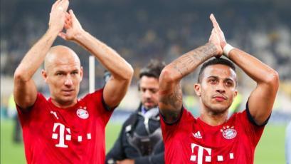 Champions League: Bayern venció al AEK por el grupo E