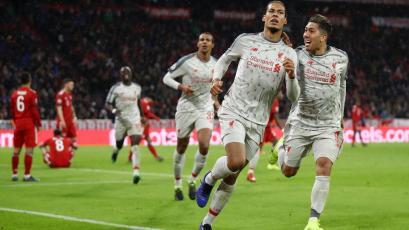 Champions League: Liverpool derrota al Bayern en Múnich (3-1)