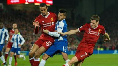 Champions League: Liverpool se mide con el FC Porto