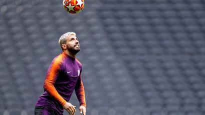 Champions League: Sergio Agüero listo para volver ante Tottenham