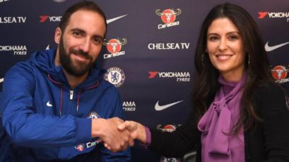 Chelsea confirma la incorporación de Gonzalo Higuaín
