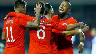 Chile sufrió para vencer 2-1 a Haití en su último amistoso antes de la Copa América Brasil 2019 (VIDEO)