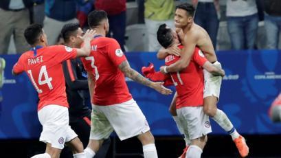 Chile venció 5-4 a Colombia en penales y se clasificó a la semifinal de la Copa América Brasil 2019