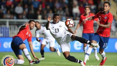 Costa Rica sorprendió a Chile y está listo para enfrentar a Perú