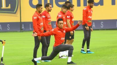 Selección Peruana: Christian Cueva, el jugador del entrenamiento de hoy, bajo el lente de GOLPERU (FOTOS)