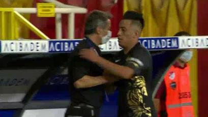 Christian Cueva jugó 81 minutos en el Yeni Malatyaspor 1-1 Göztepe (VIDEO)