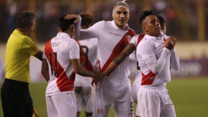 Perú venció 1-0 a Costa Rica con gol de Christian Cueva en el estadio Monumental