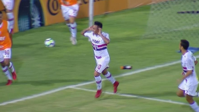 Christian Cueva anotó en el triunfo del Sao Paulo