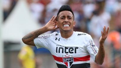 Christian Cueva fue titular en triunfo del Sao Paulo