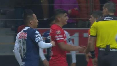 Copa MX: Christian Cueva debutó con Pachuca, pero fueron goleados 5-1 por Toluca (VIDEO)