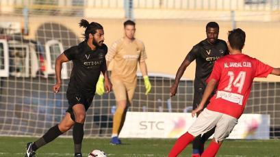 Christian Ramos participó en la goleada del Al Nassr