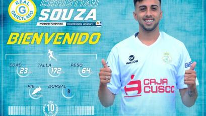 Real Garcilaso presentó al uruguayo Christian Souza como su nuevo refuerzo