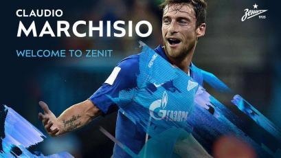 Claudio Marchisio es nuevo jugador del Zenit San Petersburgo