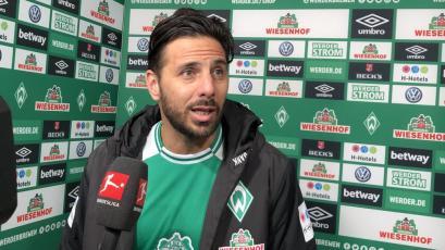Claudio Pizarro sufrió lesión en el entrenamiento del Werder Bremen