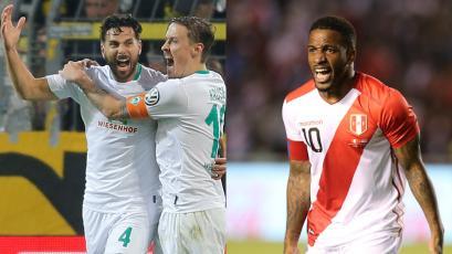 Claudio Pizarro y Jefferson Farfán aplaudieron a Gladys Tejeda y Christian Pacheco por el oro en Lima 2019