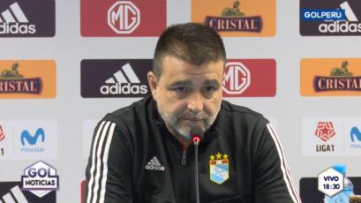 Sporting Cristal: Claudio Vivas hizo su análisis del juego de Alianza Lima con Pablo Bengoechea (VIDEO)