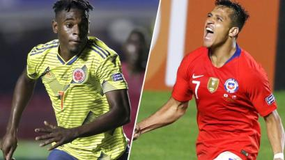 Copa América Brasil 2019: Colombia enfrenta a Chile por los cuartos de final