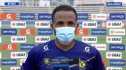 """Carlos Castillo: """"Supimos reponernos a pesar de los errores"""" (VIDEO)"""
