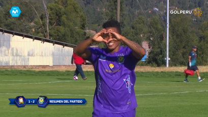 Comerciantes Unidos vence 2-1 a Ayacucho F.C e inicia con pie derecho el torneo Apertura