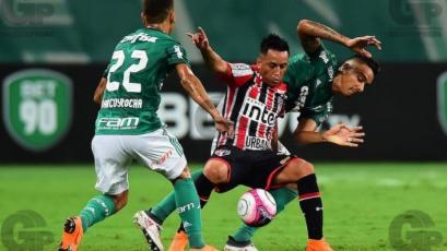 Con Christian Cueva, Sao Paulo cayó frente a Palmeiras