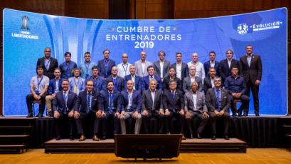 Vivas, Russo y Pautasso asistieron a la Cumbre de Entrenadores CONMEBOL
