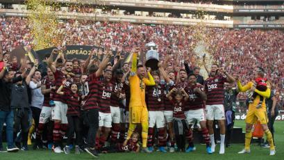 Flamengo acapara el once ideal de Sudamérica del 2019