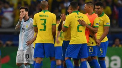 Se cumple un año del triunfo de Brasil frente a Argentina en la Copa América (VIDEO)