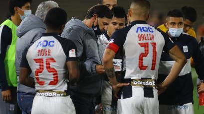 Carlos Bustos tras la eliminación de Alianza Lima: