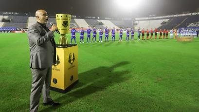 Copa Bicentenario 2021: así se entonó el Himno Nacional en la gran final entre Sporting Cristal y Carlos A. Mannucci (VIDEO)